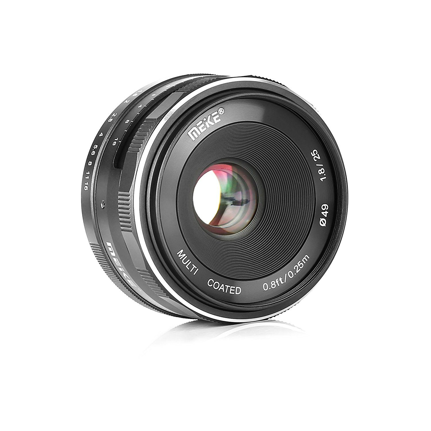 Meike New Lens Released Mk 25mm F 18 16 Large Aperture Wide Angle 50mm F2 For Mft Micro Four Third Mirrorless Manual Focus Sony E Mount Cameras