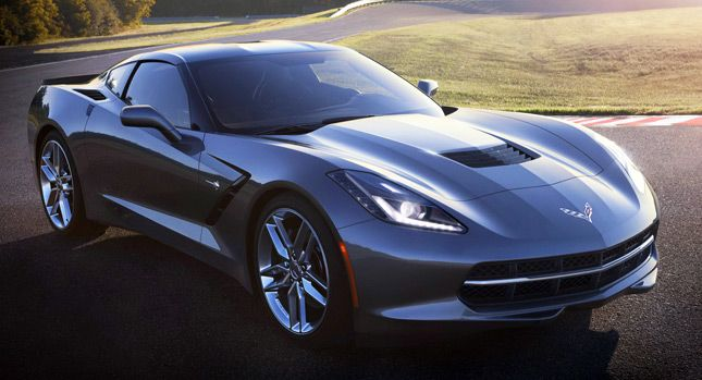 The All New 2017 Chevrolet Corvette Stingray Makes Use Of Lightweight Materials In Its Construction And Body Including A Carbon Fiber