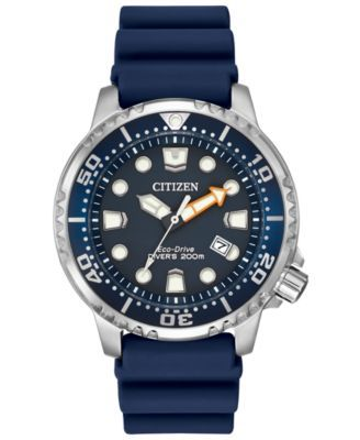 Citizen Men s Eco-Drive Promaster Diver Blue Strap Watch 42mm BN0151-09L 25bf79ec9c