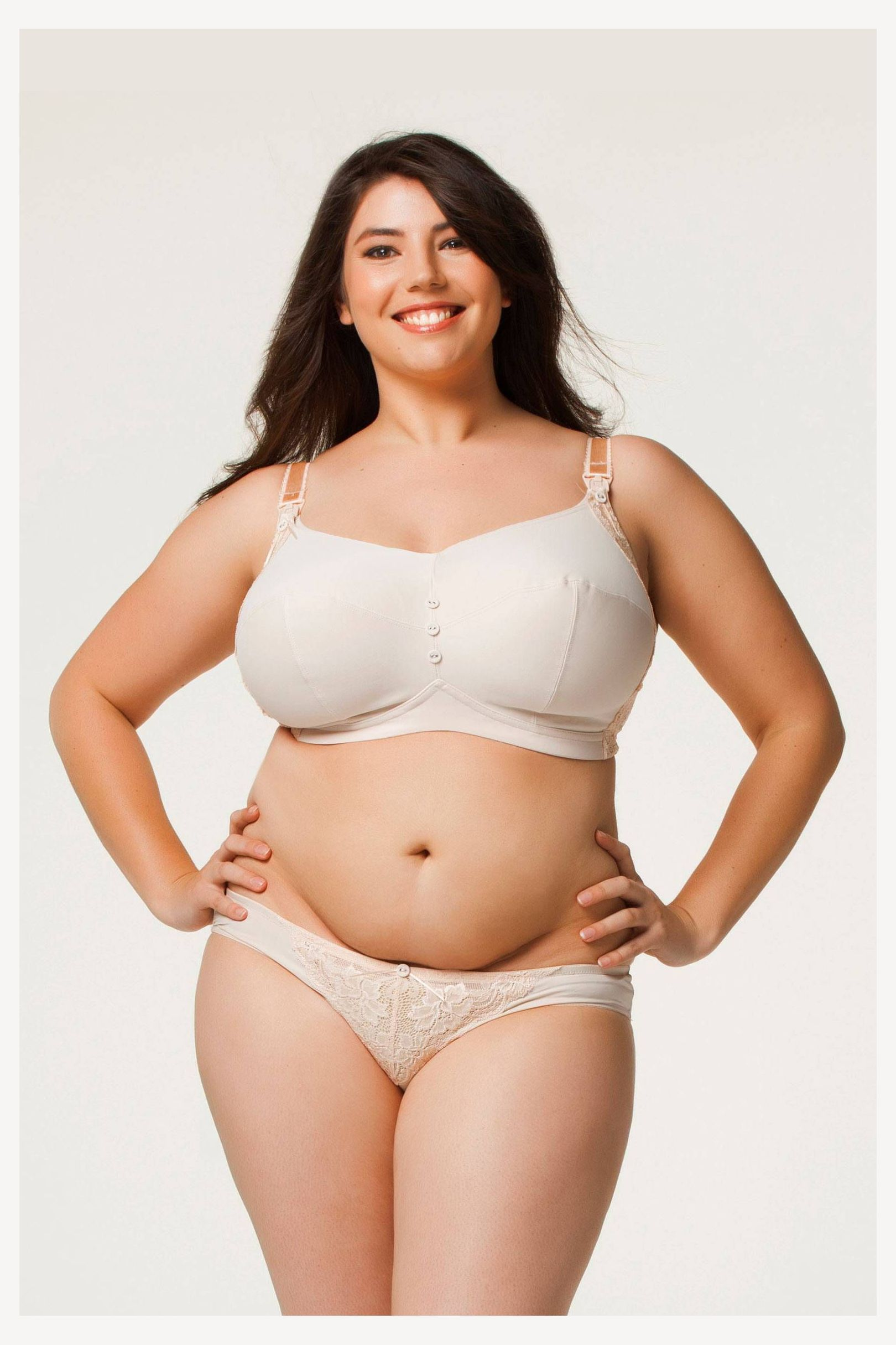 Sorbet Plus Size Non Wire Nursing Bra | Large Breasts, Macromastia ...