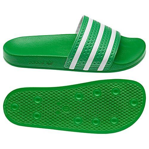adidas Adilette Slides - green
