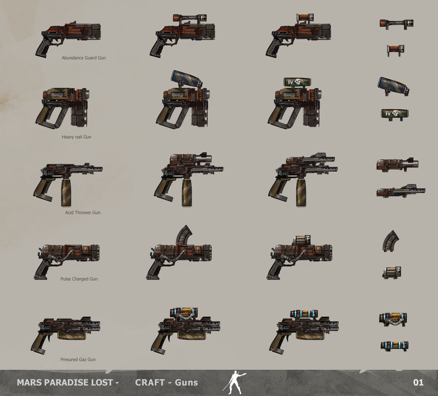 ArtStation - The Technomancer - Weapons Designs, Alexandre Chaudret on funny weapons designs, improvised weapons designs, indian weapons designs, homemade weapons furniture, homemade weapons systems, anime weapons designs,
