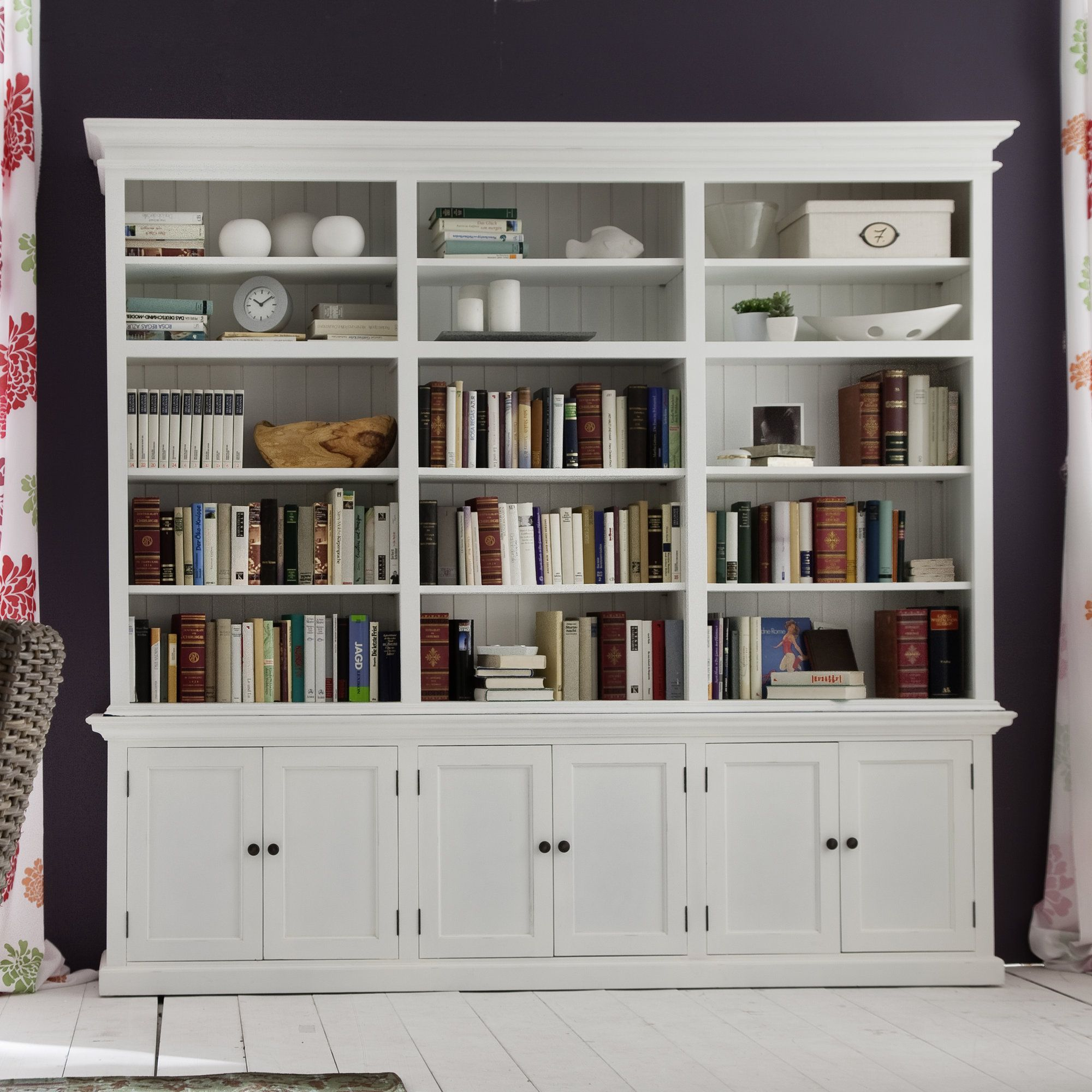 "Burlington 87"" Bookcase"