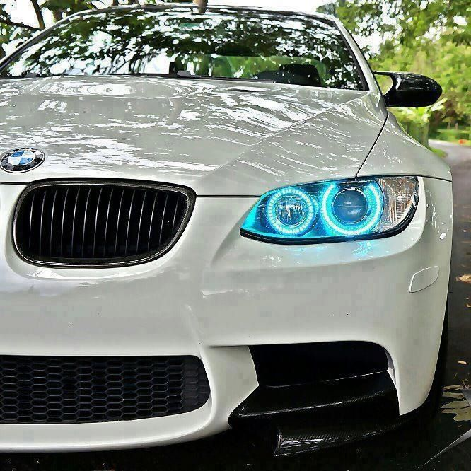 White M3 Awesome Neon Lights