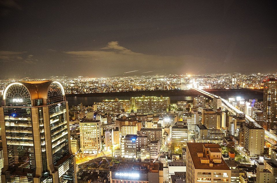 Super Posh Room With The Dazzling Night View Of Whole Osaka Triproud Osaka Japan Destinations Japan Landscape
