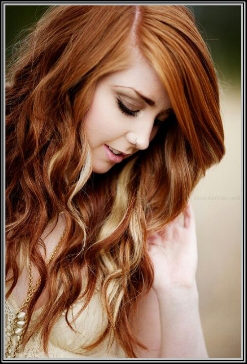 Red Hair With Blonde Highlights Photos - Hairstyles ...