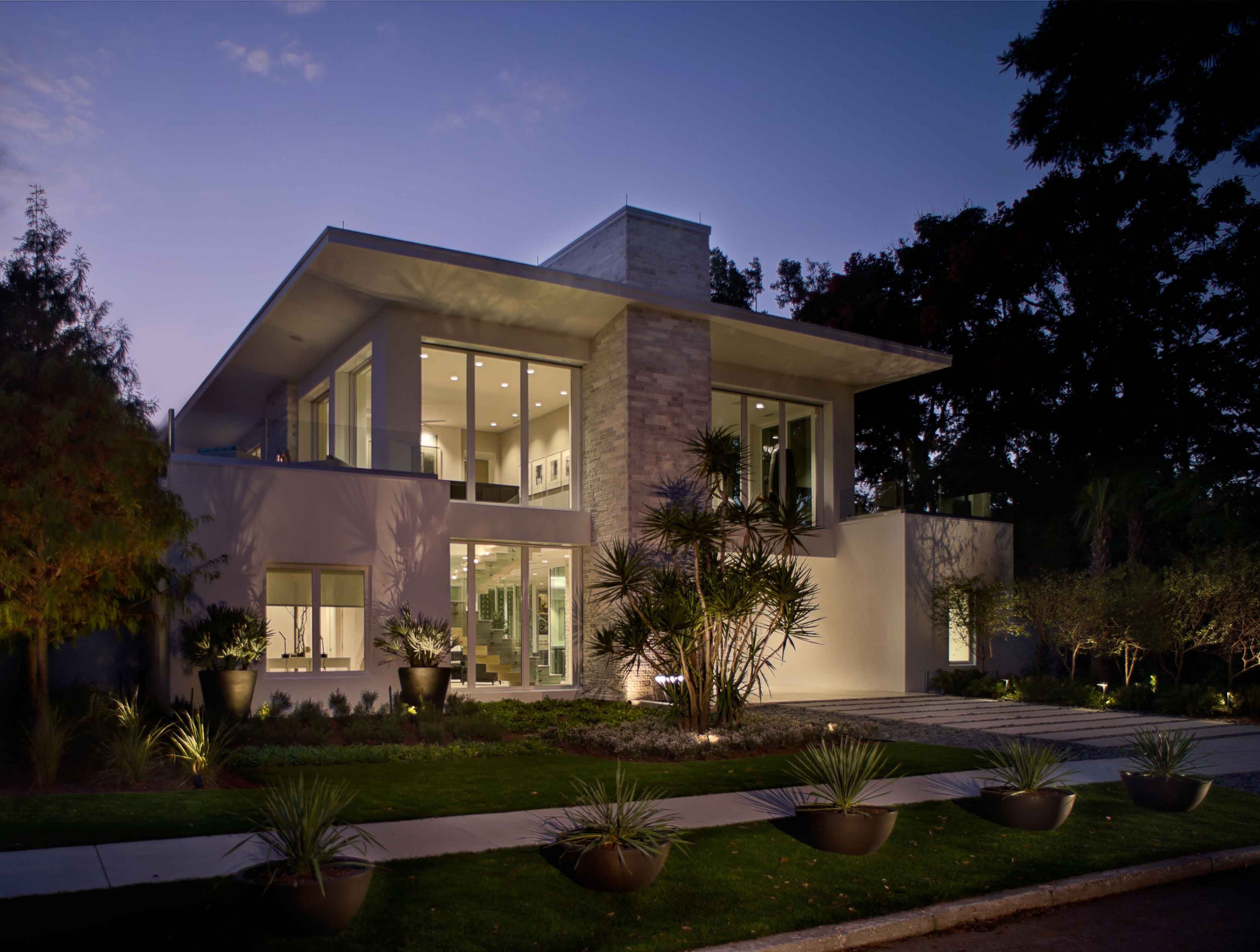 Front Elevation Of The New American Home By Phil Kean Designs