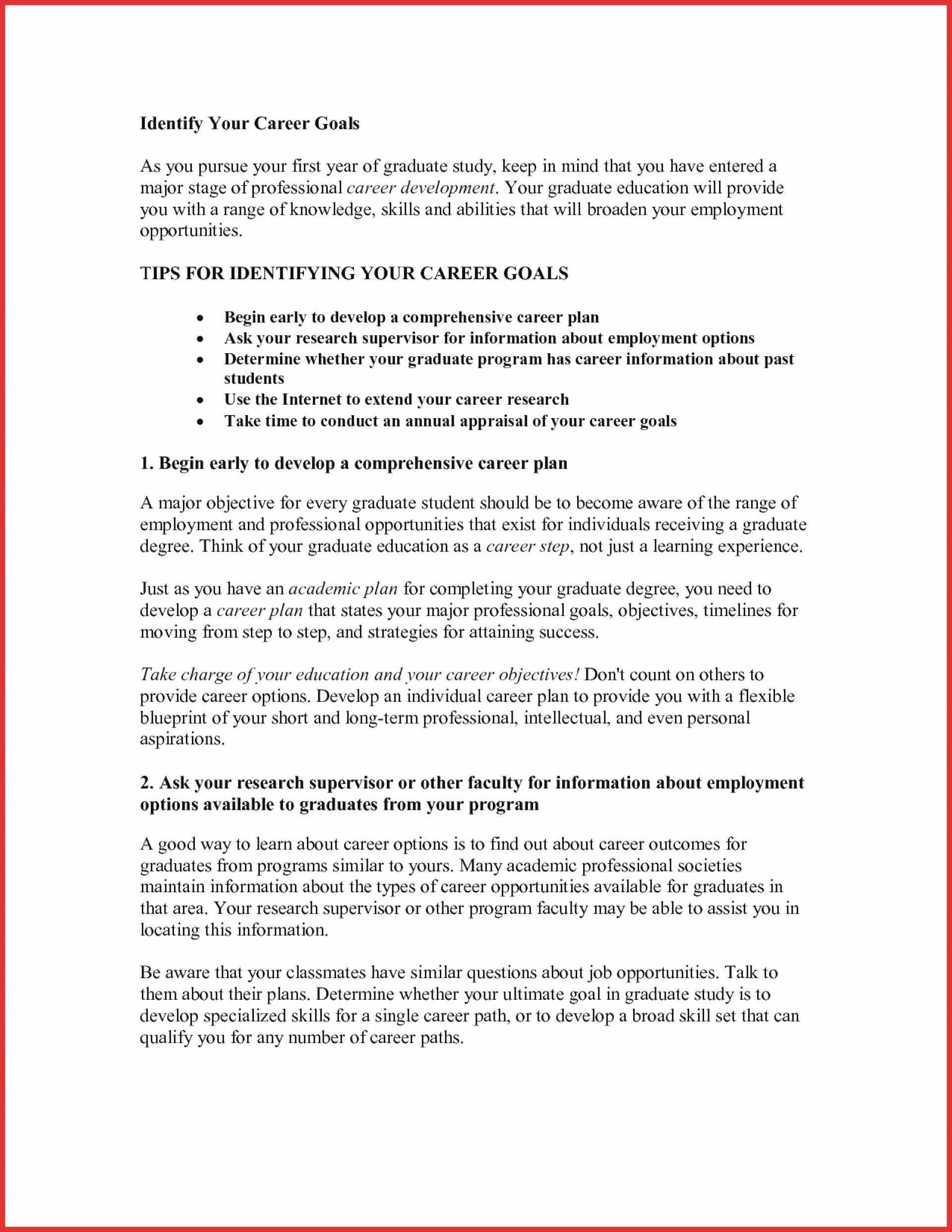 Statement Of Academic Goal Example Fresh 009 Educational And Career Essay Goals Define Succes