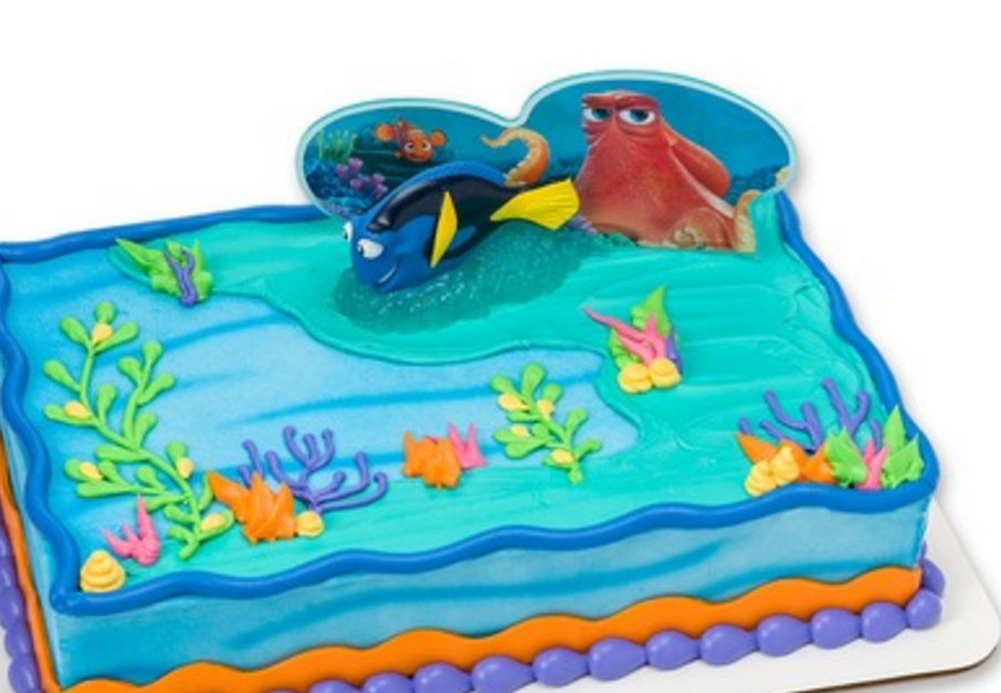 Safeway cake Finding Dory PARTY Pinterest Cake Birthdays