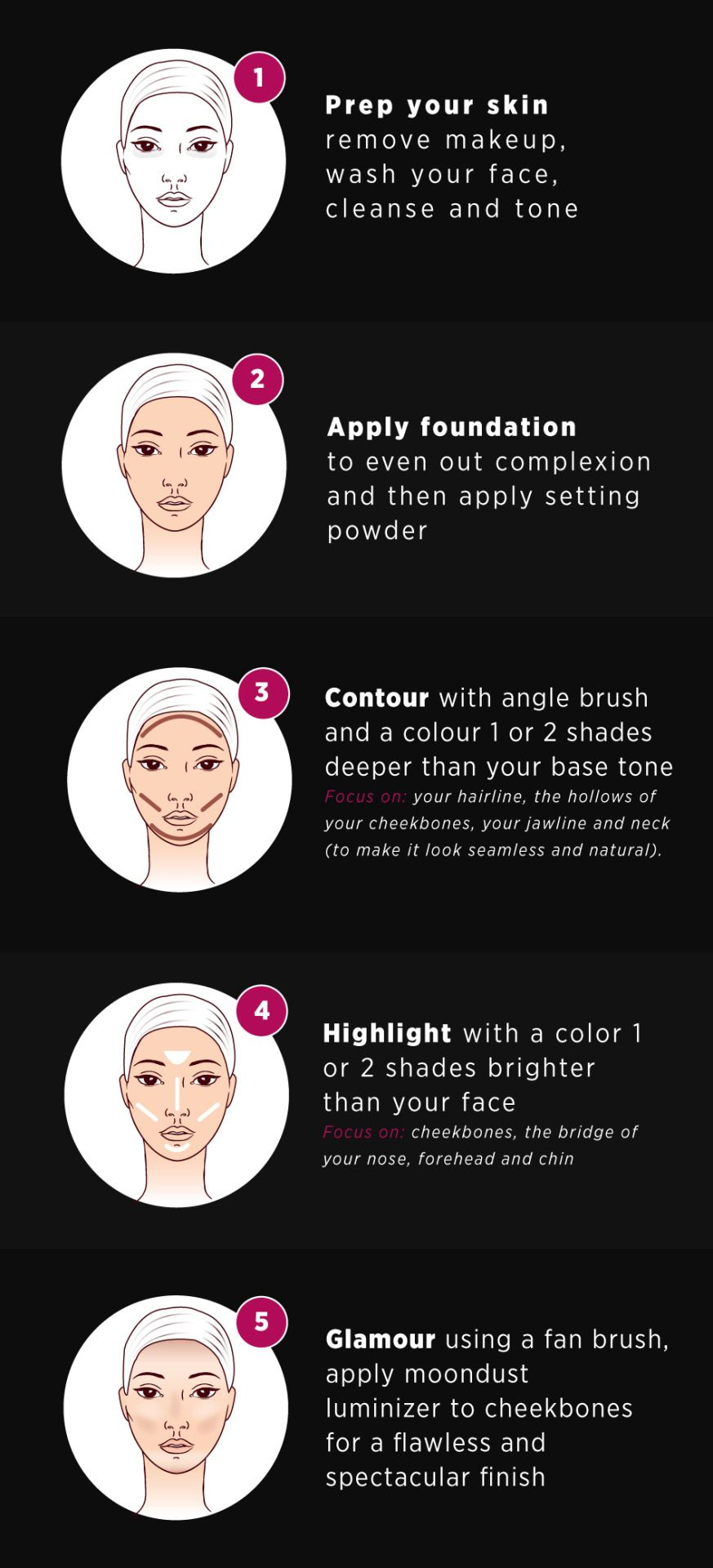 Photo of how to contour 5 easy steps