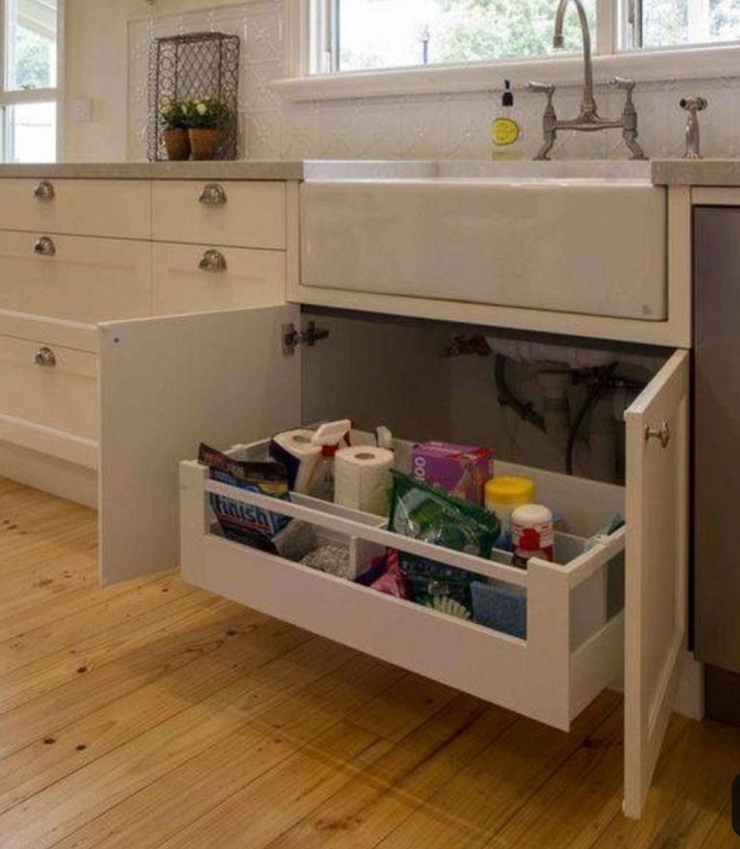 Pull Out Drawer Under Sink Farmhouse Cabinets Kitchen Cabinet Styles Under Kitchen Sinks