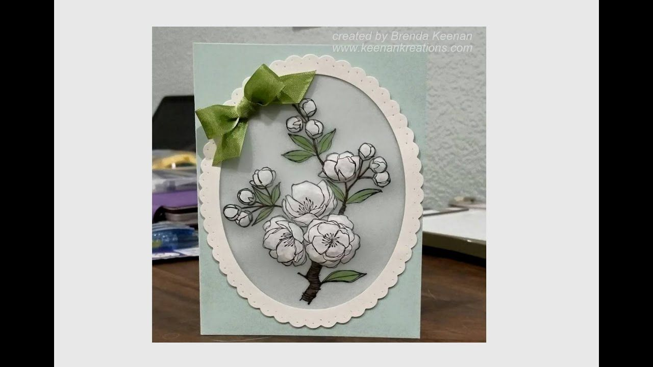 Easy Embossed Vellum   Beautiful handmade cards, Vellum ...