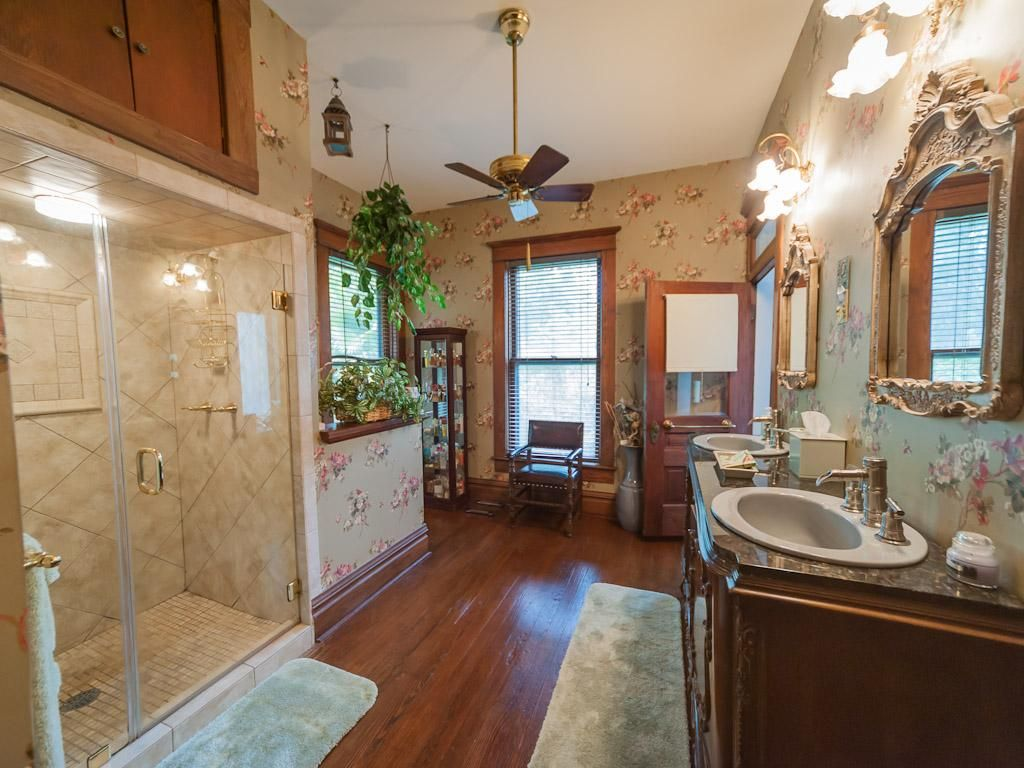 Exquisite And Mostly Original 1909 Queen Anne Style Estate On 1/2 Acre  Corner Lot