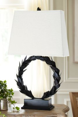 Laurel Wreath Table Lamp From Soft Surroundings My Soft