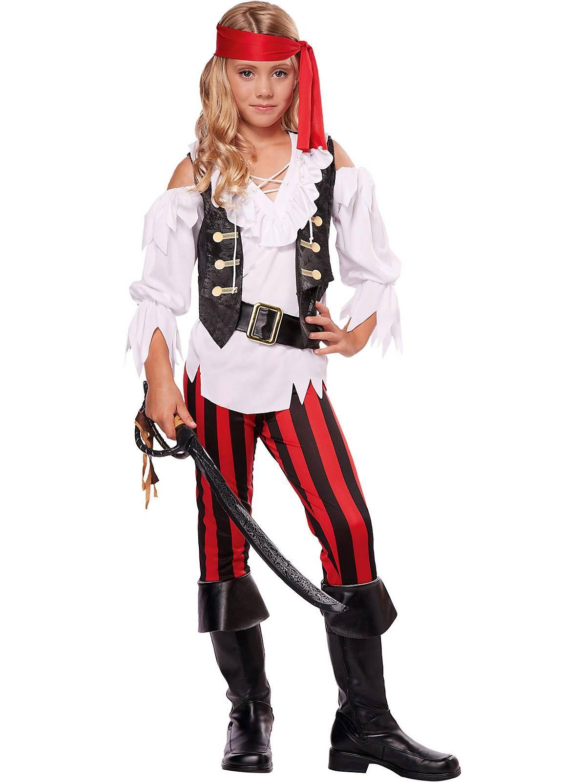 Posh Pirate Girl\'s Costume | Costumes and Pirate halloween