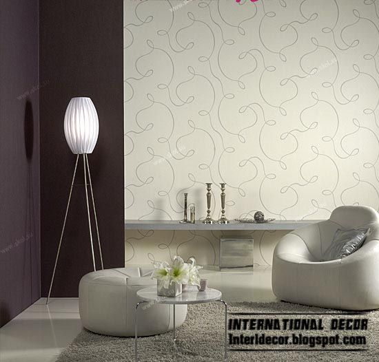 Wallpaper Ideas Living Room Modern Living Room Wallpaper Design
