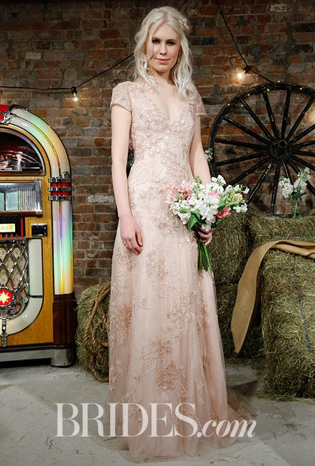 Brides Jenny Packham Wedding Spring 2017 Bridal Fashion Week