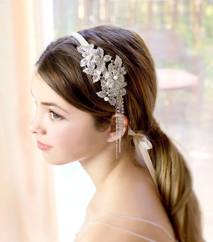 1920s Gatsby Inspired Wedding Hairstyles