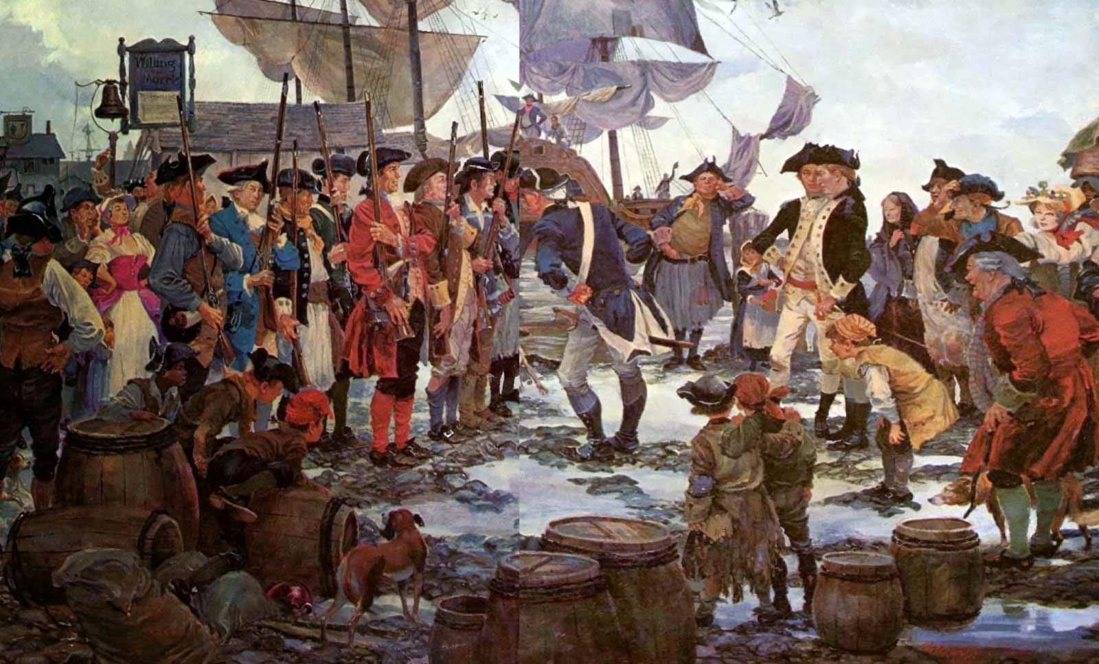 Birth Of The U S Marine Corps American War Of