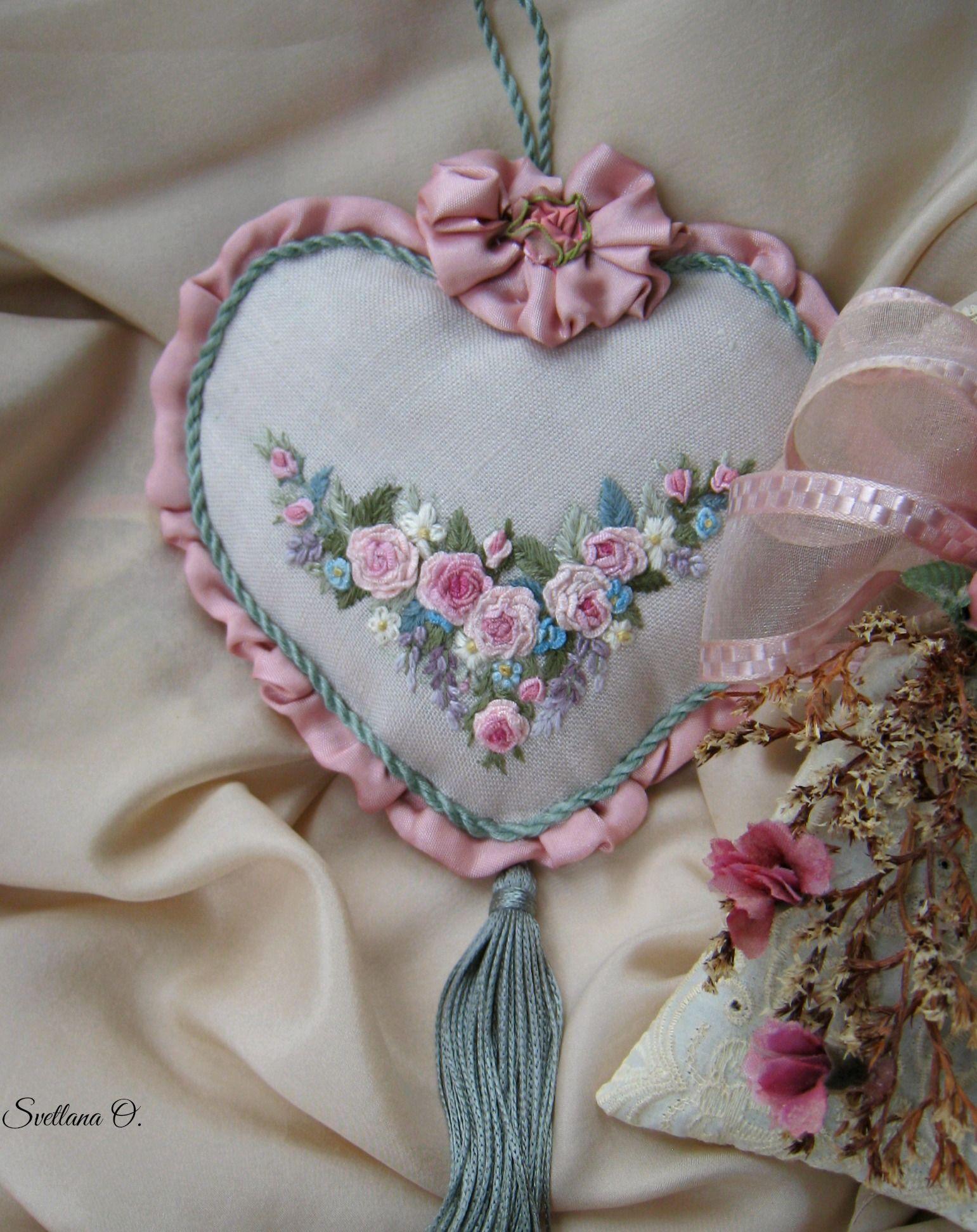 Old-fashioned sachet. Made by Svetlana O. | Pincushions and sachets ...