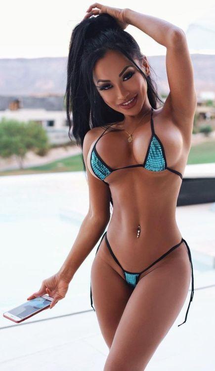 Swimsuit lesbian Asian