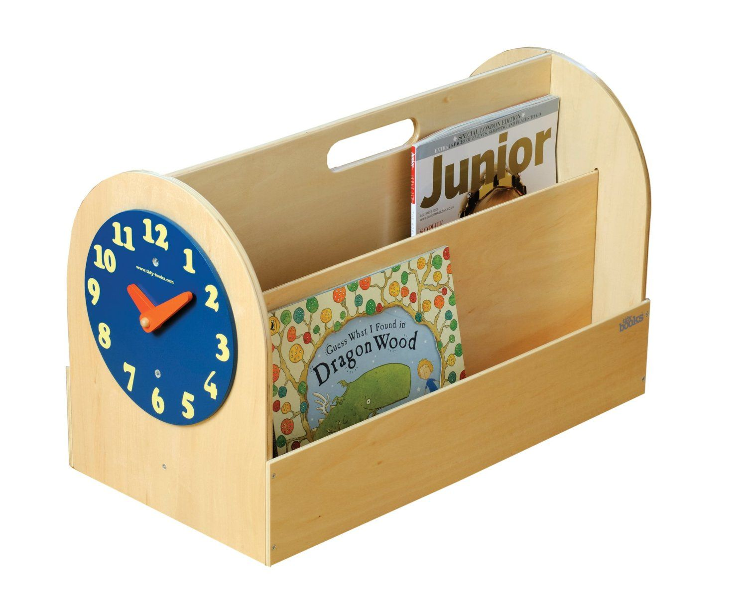 Tidy Books Die innovative tragbare Kinder Bücherbox aus Holz