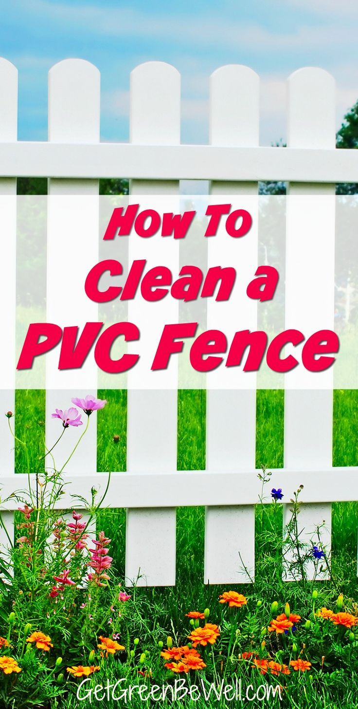 How to clean a vinyl fence pvc fence vinyl fence white