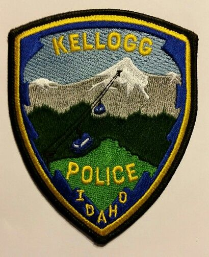 Kellogg Id Police Police Patches Police Badge Police