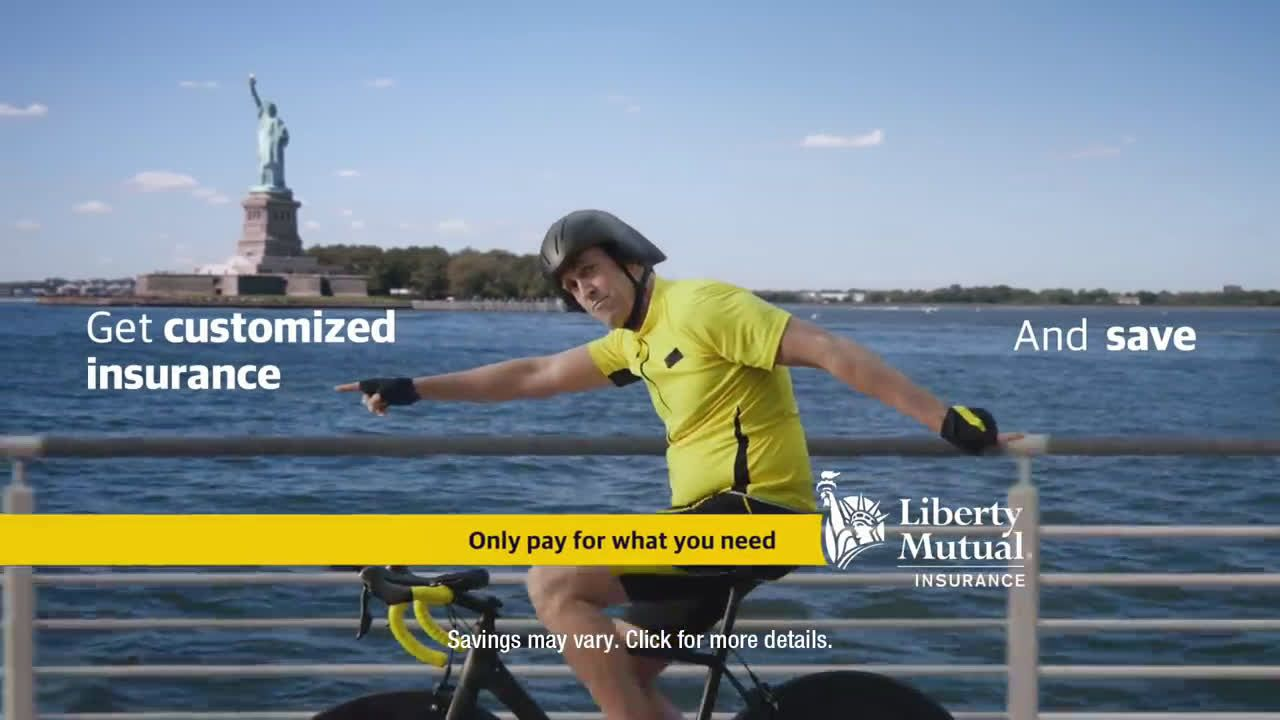Liberty Mutual Commercial Insurance >> Liberty Mutual Insurance Fitness Junkie Bumper Ad