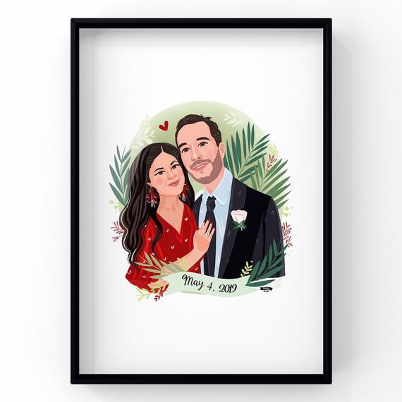 "Personalised handmade /""classic couples de mariage//anniversaire carte"