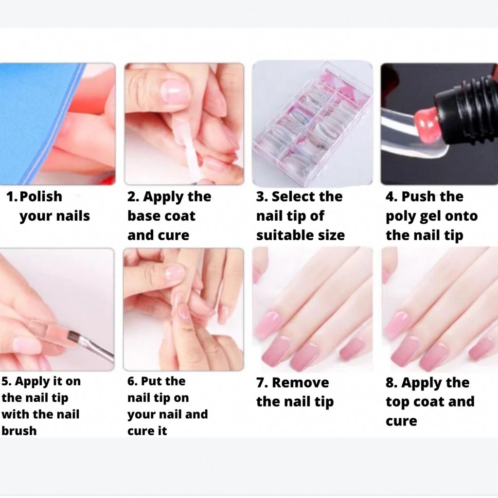 Minisalon Polygel Nail Builder Set We Got The Stuff Bestfrenchtipnailpolish Polygel Nails Nail Kit Gel Nail Kit