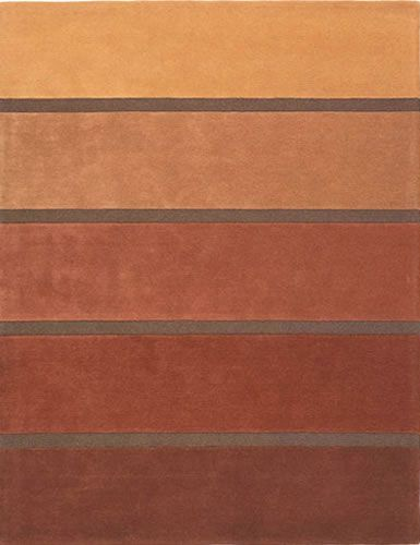 rug with copper colored stripes  Design inspiration  Pinterest  벽돌