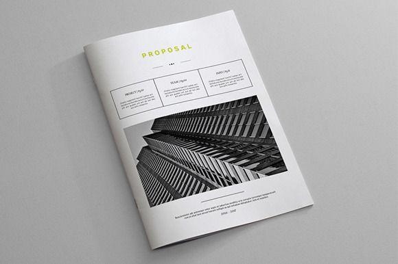 Indesign Business Proposal Template u2022 Available here → https - business proposal template