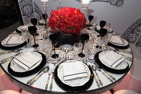 Awesome Decorations For Fashion Show   25 Tabletop And Decor Ideas From Diffau0027s  Dining By Design In