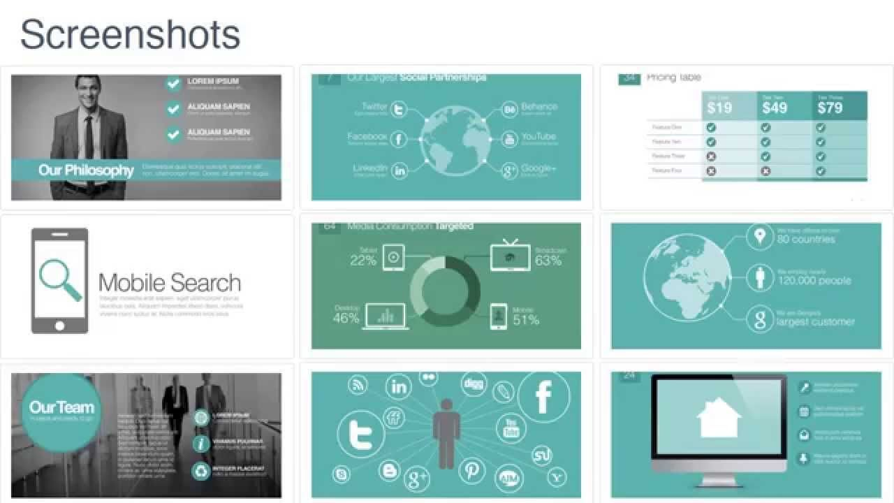 modern powerpoint templates powerpoint template