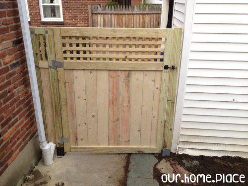 Building A Gate Wrap Up Building A Gate Patio Fence Porch Gate
