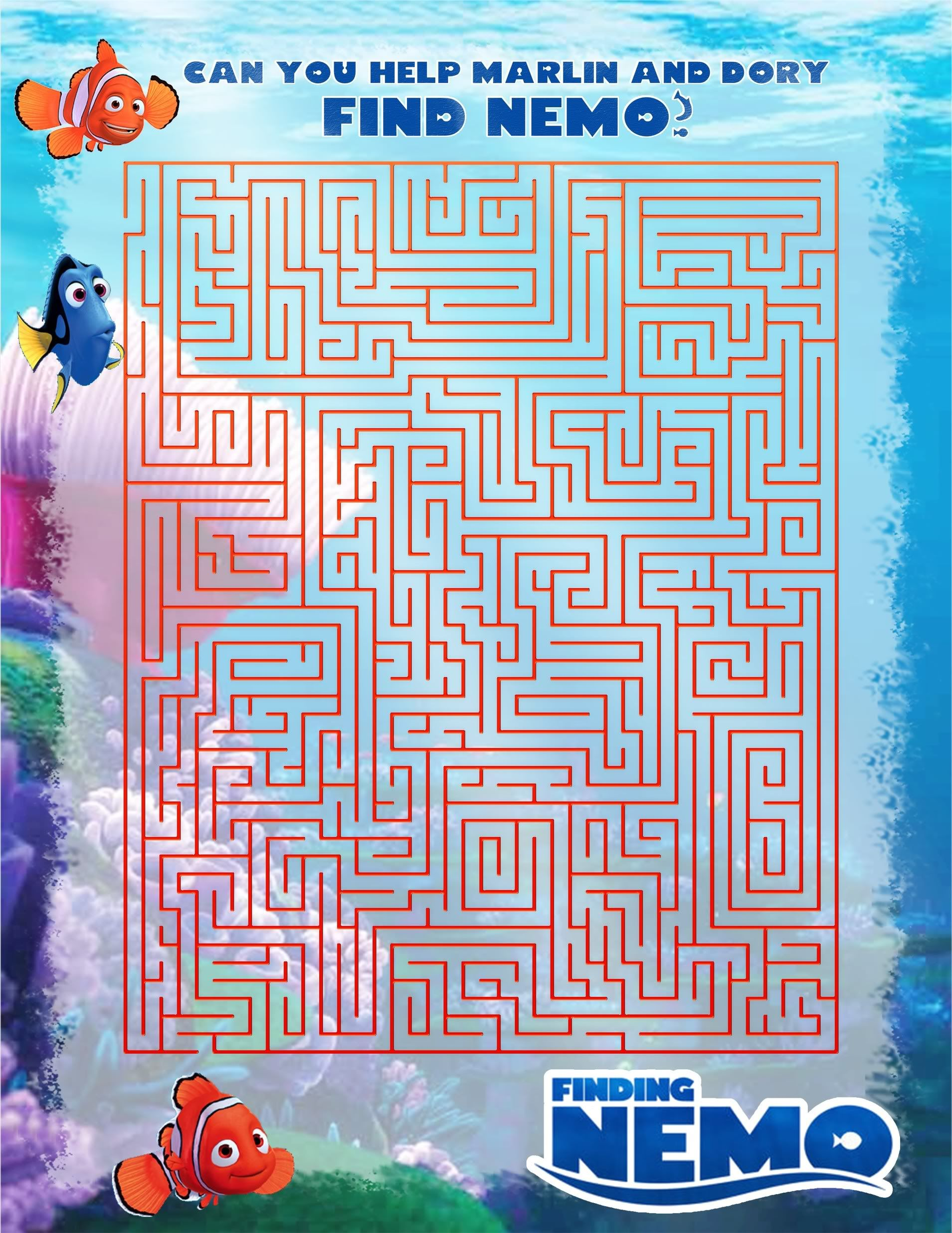 Nemo Maze Photo This Photo Was Uploaded By Donatalie