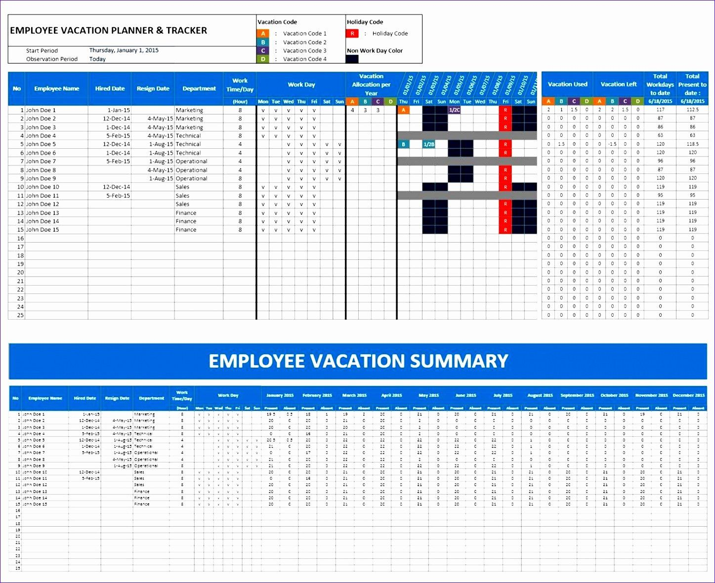Vacation Schedule Template 2016 Lovely 8 100 Day Plan Template Excel Exceltemplates Excel Calendar Template Vacation Calendar Excel Calendar