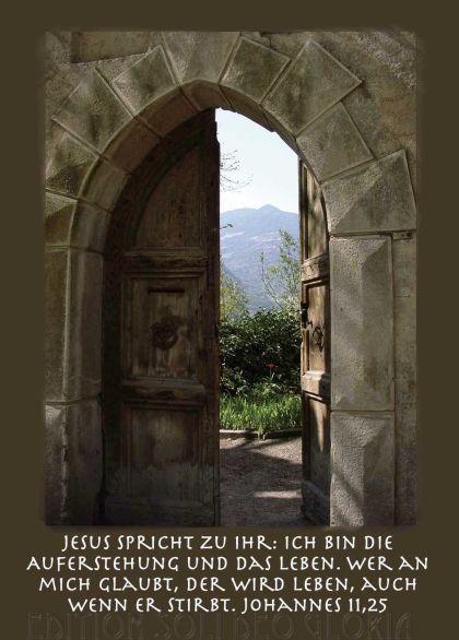 Christliche Postkarte 22, Johannes 11, Kondolenzkarte, Beileid, Trauer,  Trauerkarte   Bibel