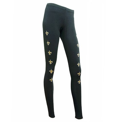 New Orleans Saints Downtown Solid Leggings | Pro Glamour ❤ New ...