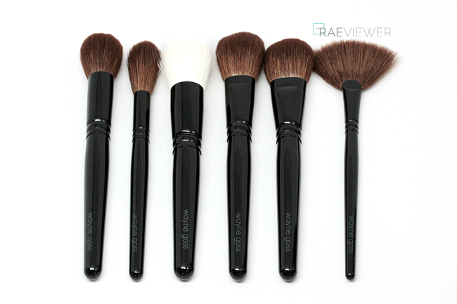The RAEviewer Wayne Goss 'The Face Set' Brush Collection