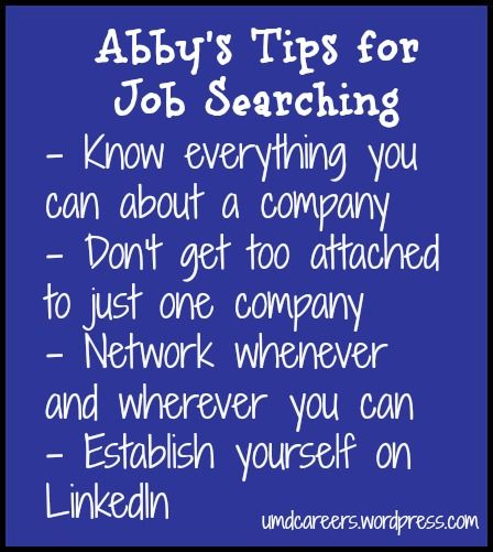 Good Abbyu0027s Tips For The Job Search. Reference LetterJobs ...
