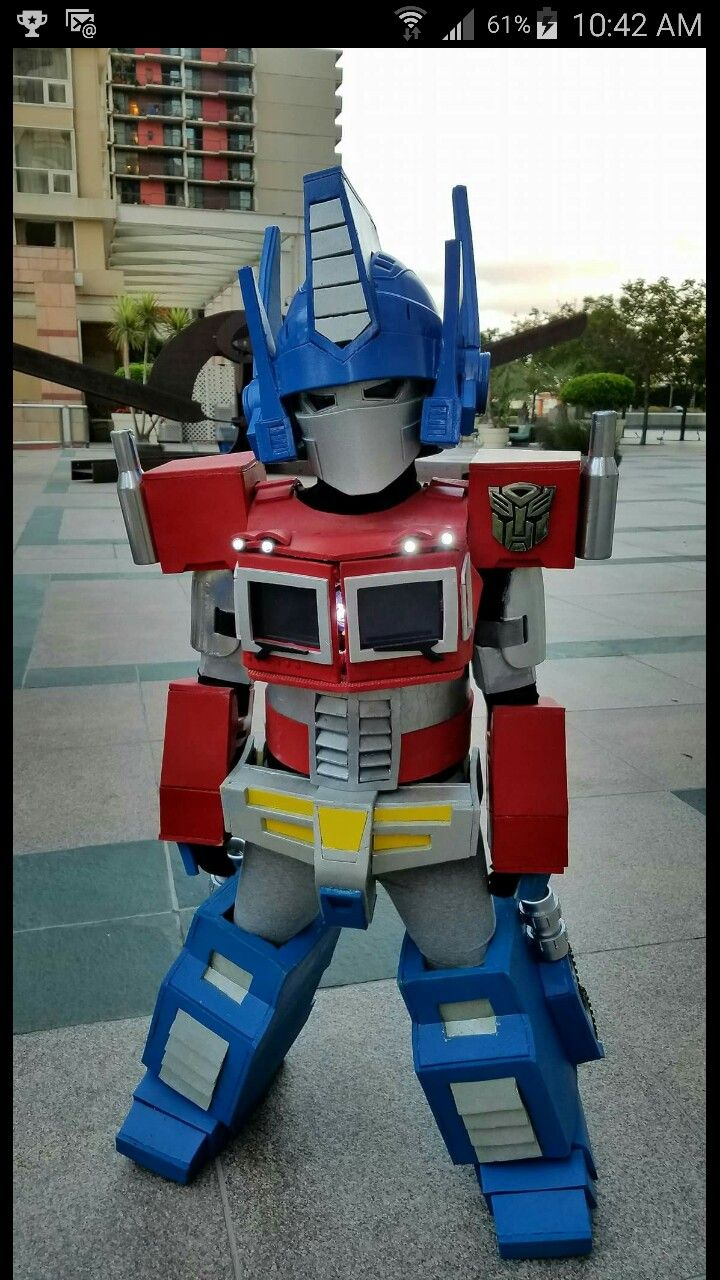 Optimus Prime Classic Girls Costume Transformers Child
