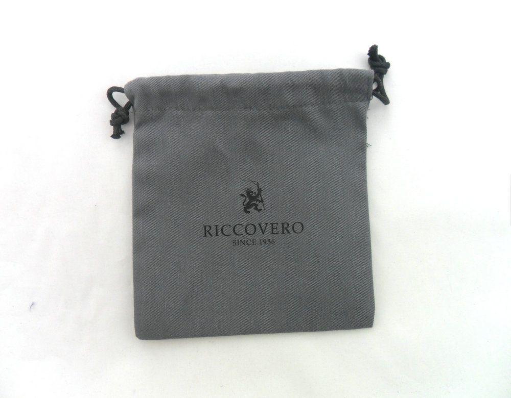 Grey Packaging Jewelry Custom Drawstring Bag Jewellery