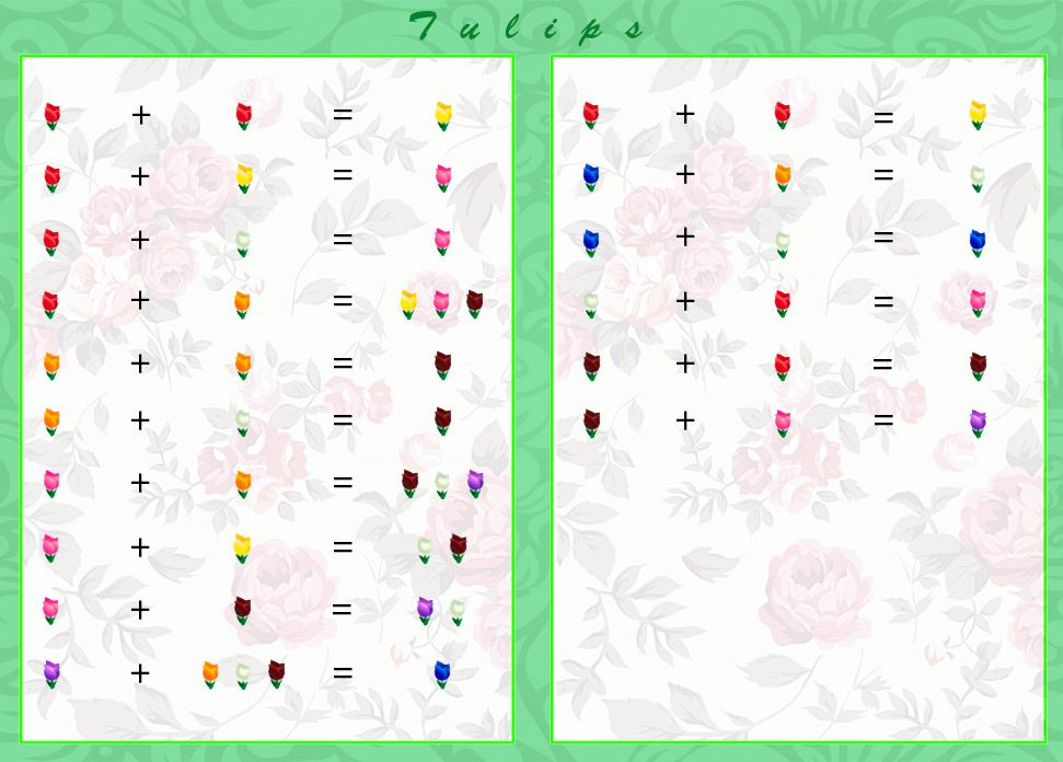 animal crossing hybrid flowers chart