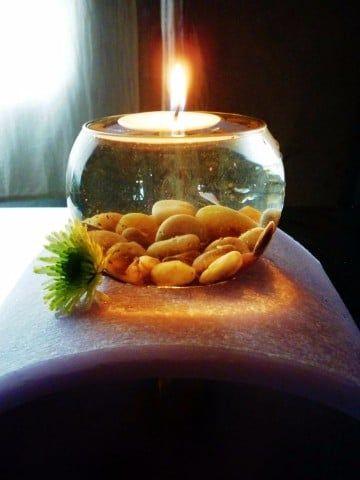 Peceras de vidrio para centros de mesa de boda - Decoraciones de peceras ...