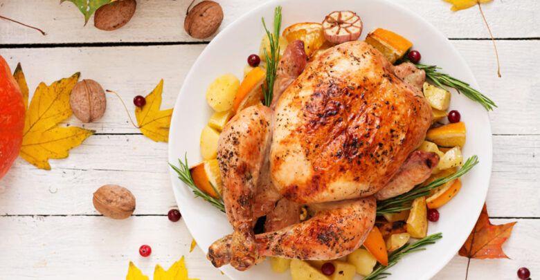 طريقة حشو الدجاج بالخضار والارز واشهي الطرق السورية لحشو الدجاج Food Turkey Meat