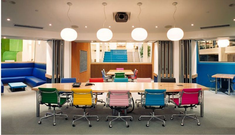 Stylish conference rooms design for offices perfect combination of color in meeting room ceradubois