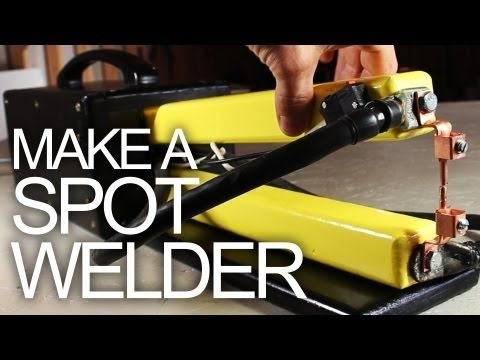how to make a spot welder for cheap diy pinterest schwei en werkstatt und projekte. Black Bedroom Furniture Sets. Home Design Ideas