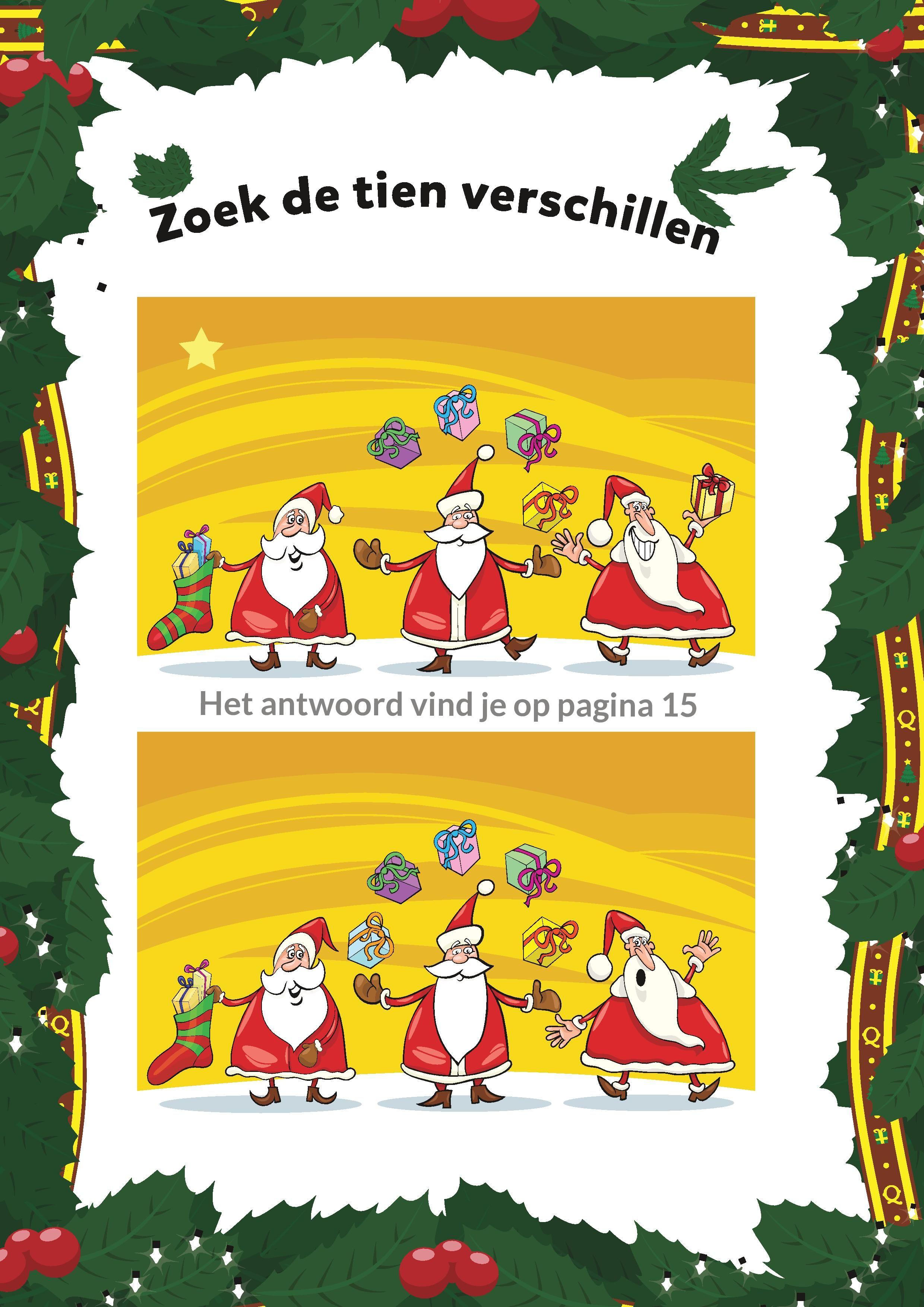 kerstvakantieboek squla kerstbingo kerst knutselen en kerst